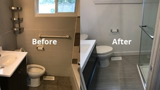 Time Lapse Bathroom Renovation