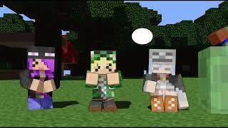 Minecraft Animation: Nữ creeper Phần 2