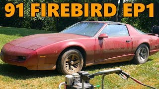 New $100 Project Car: 1991 Pontiac Firebird Rescue (Ep.1)