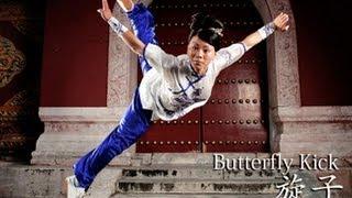 WUSHU TUTORIAL: Butterfly Kick