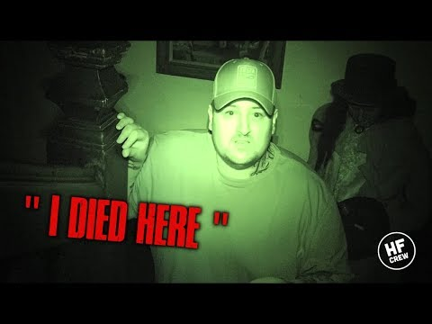 """THIS WAS EXTREMELY DISTURBING GHOST SAID """"I DIED HERE"""" (CHILLING)"""