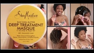 Review & Demo | Deep Treatment Masque: Shea Moisture !!