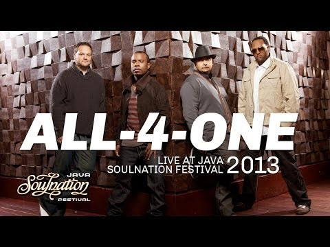 All-4-One live at Java Soulnation 2013