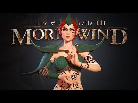 Как бы выглядели персонажи TES III: Morrowind в новой графике | Ностальгический обзор Морровинд