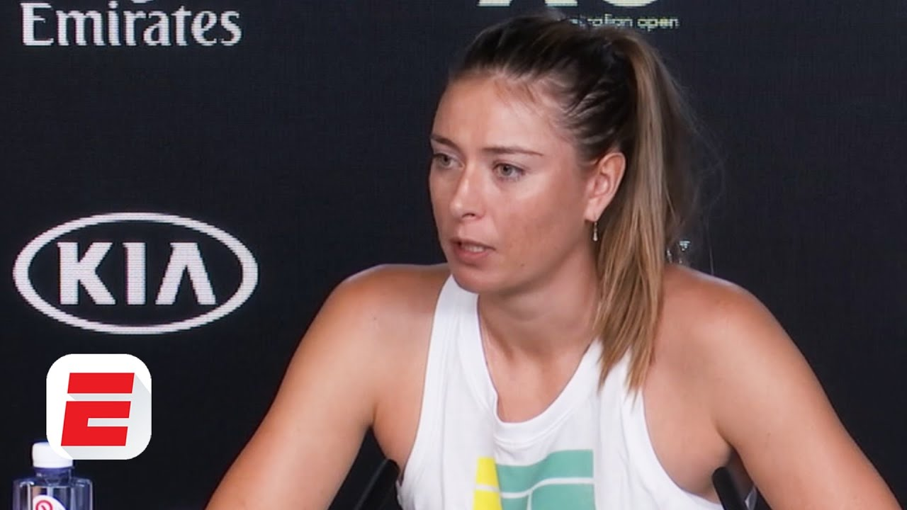 'It's tough to know what will happen' - Sharapova after Australian Open exit | Tennis
