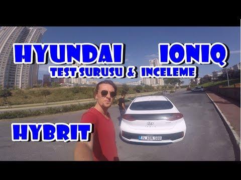 Hyundai IONIQ Test Sürüşü Ve İnceleme.Hybrit Çok AZ Yakıyor !!