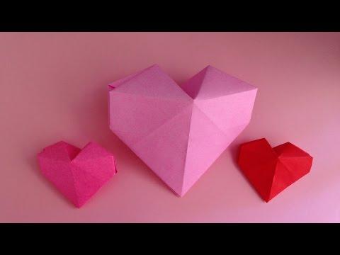 クリスマス 折り紙 折り紙ハートの作り方 : popmatx.com