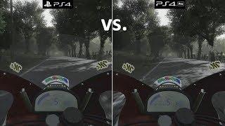 TT Isle of Man: Ride on the Edge | PS4 vs. PS4 Pro | 4K Graphics Comparison | 2160p 60fps