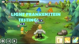 Summoners War - Light Frankenstein Driller Gameplay Testing – Violent Endure Build