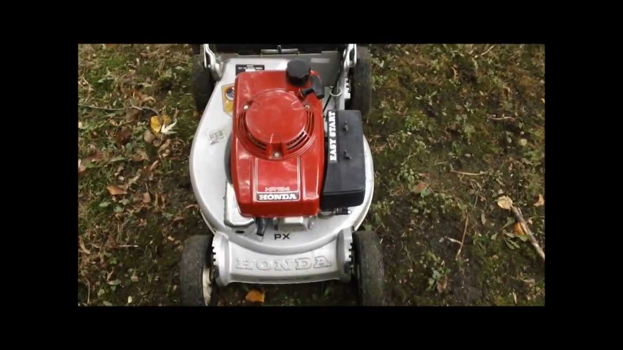 honda hr194 px lawnmower overview start run youtube. Black Bedroom Furniture Sets. Home Design Ideas