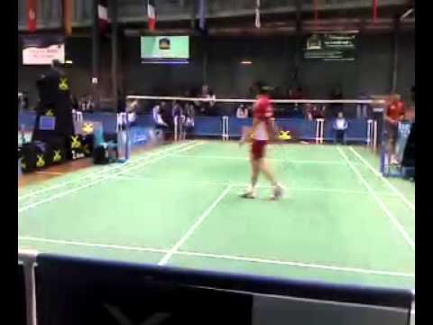 Final Set Tonga (metu) vs NZ (Kim) Badminton
