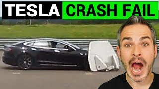 Tesla Model S Fails a Crash Test but Was It Legit?