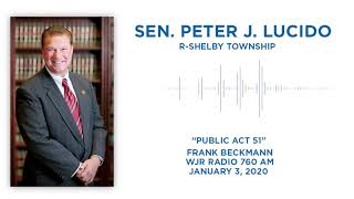 Sen. Lucido discusses road funding with Frank Beckmann on WJR