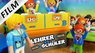 Playmobil Film Deutsch LEHRER VS. SCHÜLER: DAS QUIZDUELL! IST JULIAN SCHLAU GENUG? Familie Vogel