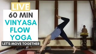 Vinyasa Flow With Carrie Treister