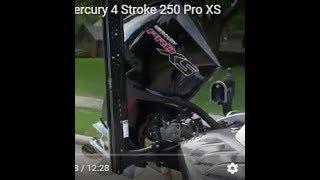 New 2018 Mercury 4 Stroke 250 Pro XS