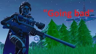 """Fortnite montage - """"Going Bad"""" (Meek Mill)"""