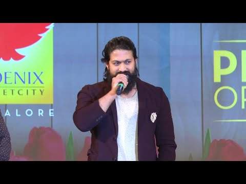 Rocking Star Yash in Phoenix Of The Year - 2018