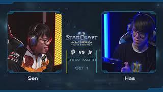 《星海爭霸》經典邀請賽 - Sen vs Has