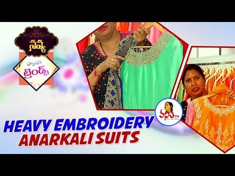 Heavy Embroidery Anarkali Suits and Long Gowns | Krishnashtami Special Navya | Vanitha TV