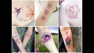 100+ Fantastic Colorful Tattoo Design Ideas 2018