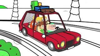 Küçük Deniz Kızı çizgi Film Karakter Boyama Sayfası 1 Minik Eller