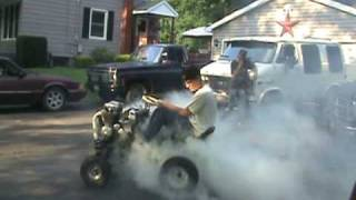 Big Smokey Burnout!