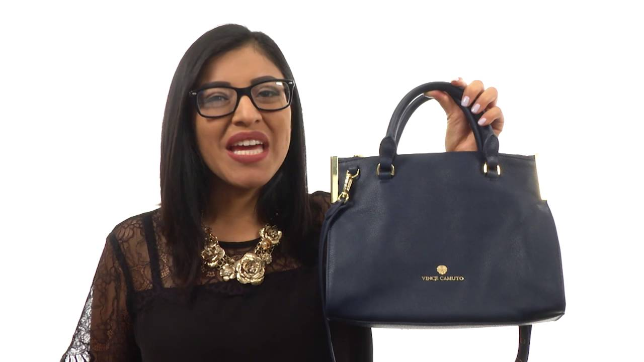 48c0a6f03c14 Vince Camuto Tina Small Satchel SKU 8777630 - YouTube