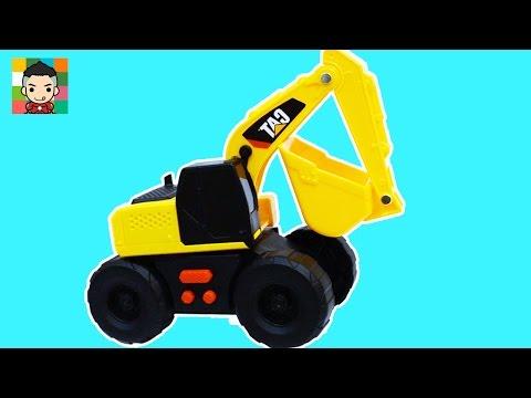 Excavator for kids CAT excavator - รถตักดิน รถแม็คโคร