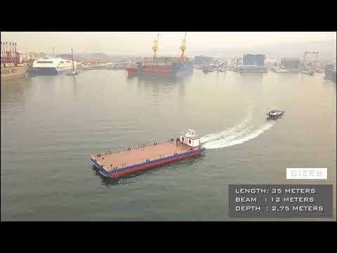 ARENA OFFSHORE - 35m SELF PROPELLED DECK BARGE