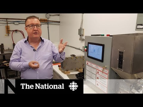 Ontario Inventor Creates Machine To Recycle Plastic Locally