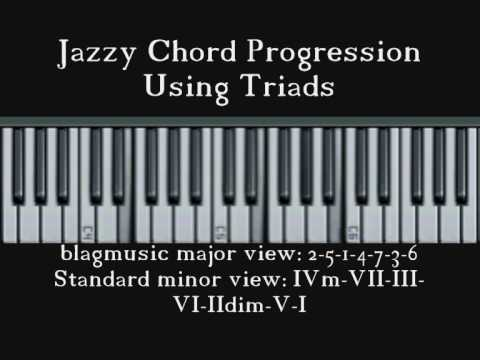 Jazzy Chord Progression based on circle of fourths/fifths / Latin ...
