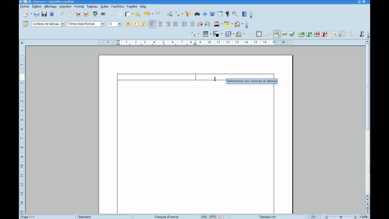 Tutoriel bureautique r aliser une lettre avec openoffice libreoffice partie 1 youtube - Comment faire organigramme open office ...