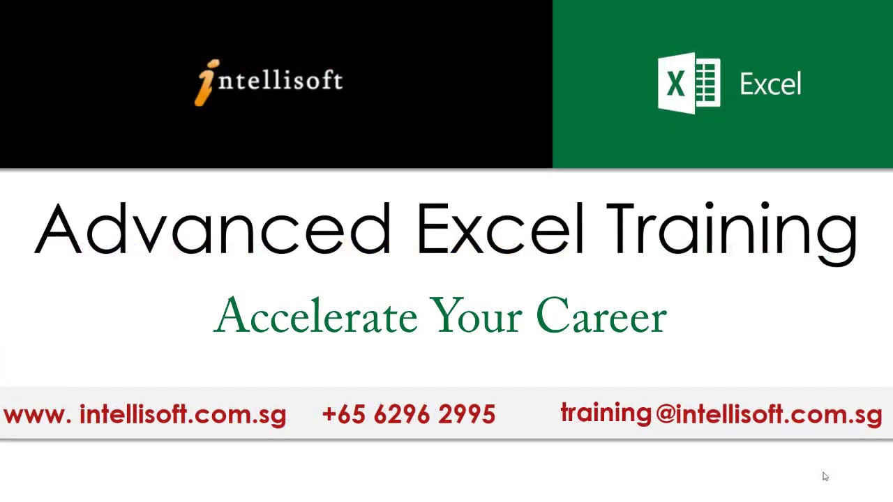Microsoft Advanced Excel 2016 Training: Learn Pivot Tables