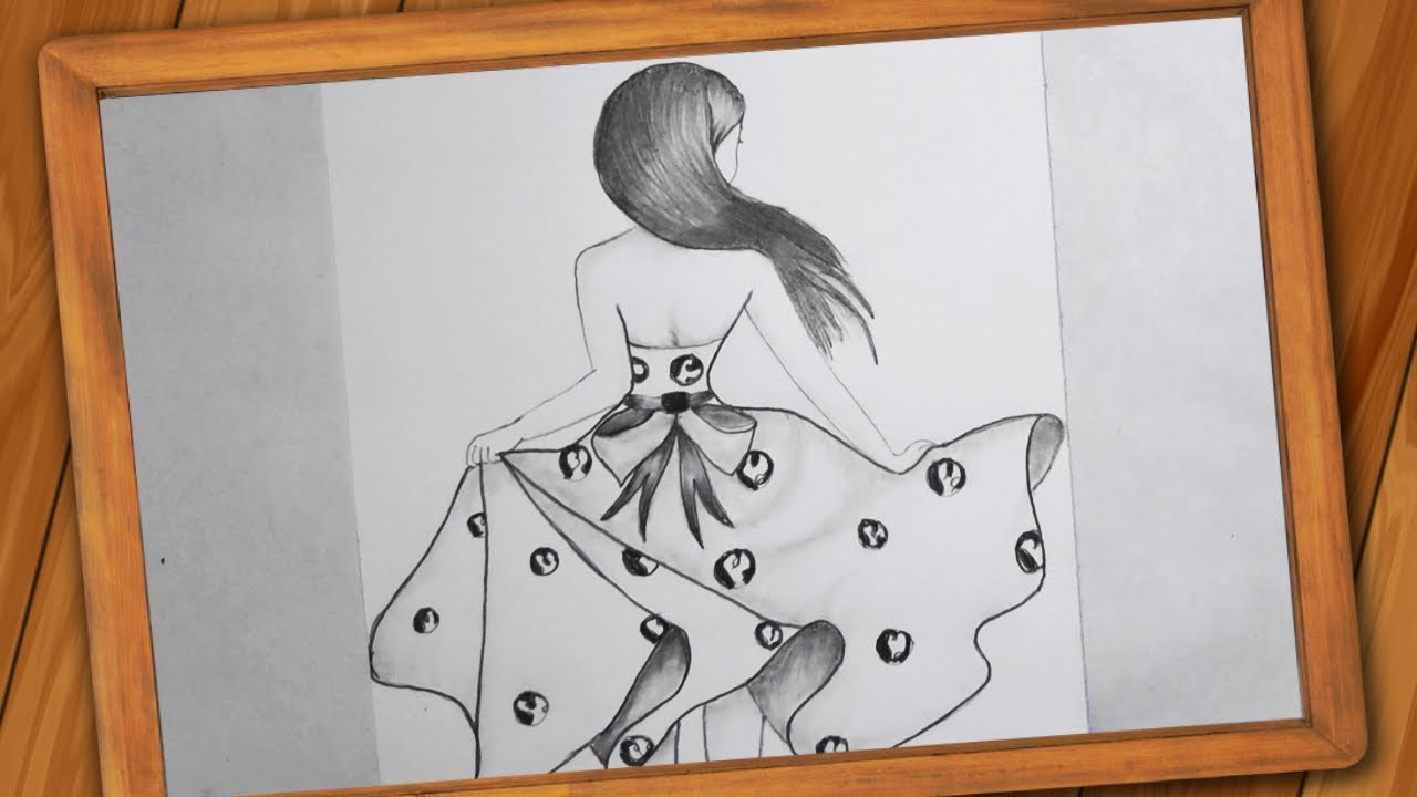 Girl Dancing Drawing Pencil Sketch Step By Step Happy International Dance Day Drawing Youtube