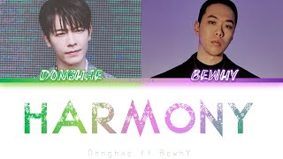 ... song : harmony artist super junior's donghae (feat.bewhy) album 'harmony' / digital...
