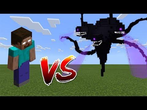 Herobrine Vs Wither Storm - Minecraft