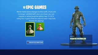 Fortnite has ruin the toy soldier skin