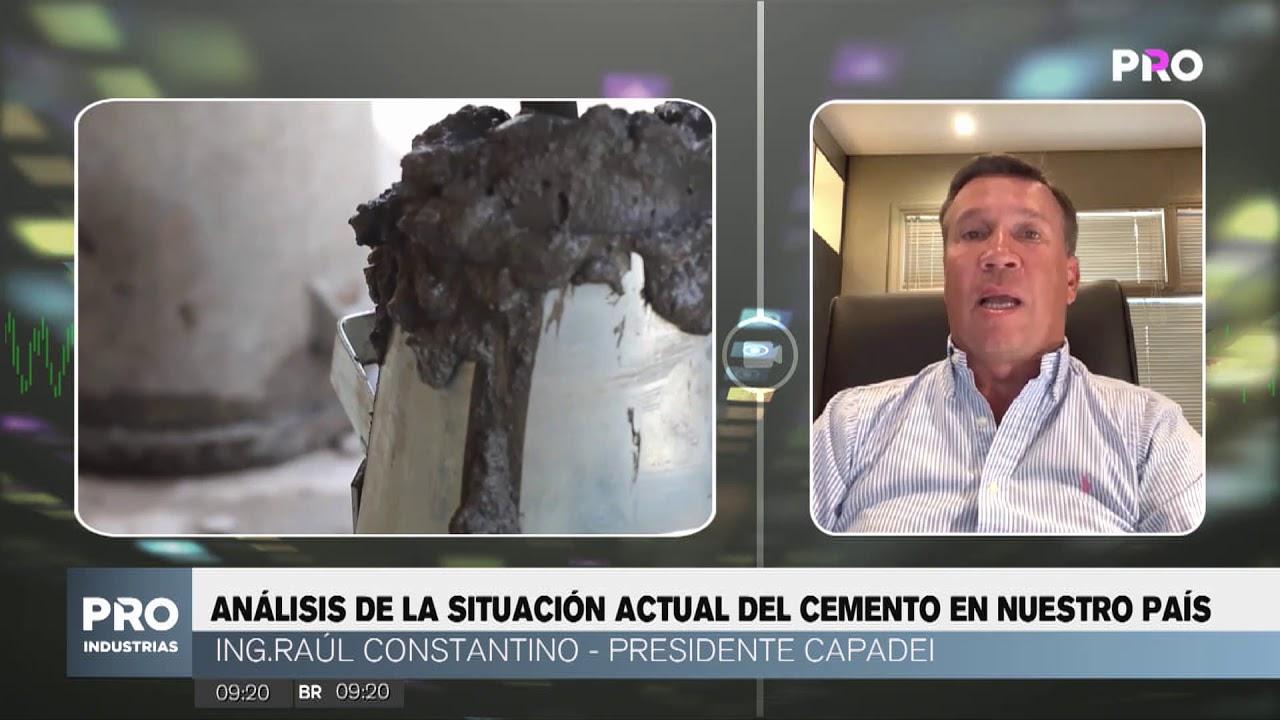 SITUACIÓN DEL CEMENTO GOLPEA A SECTOR INMOBILIARIO