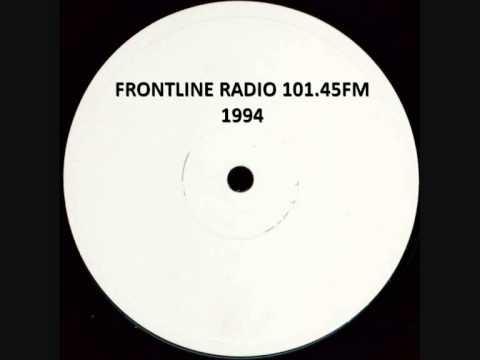 FRONTLINE RADIO 101.45FM (MANCHESTER PIRATE) 1994