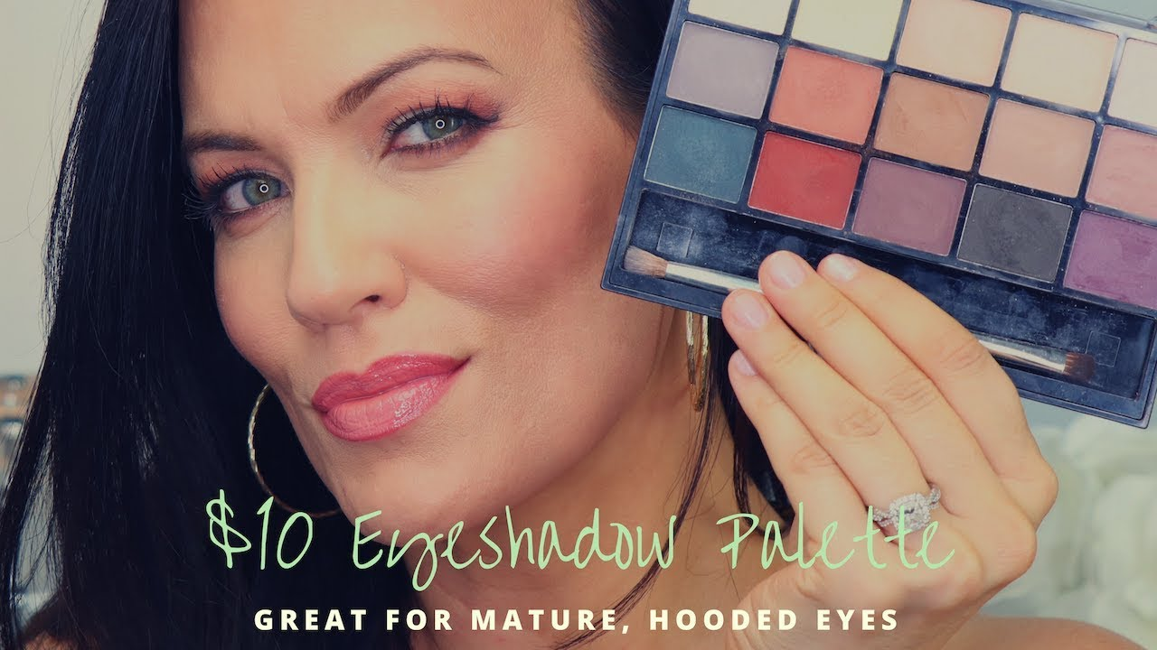Matte eye shadows mature skin