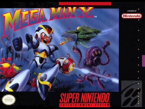 Mega Man X Longplay! - 1080p - 100% Completion