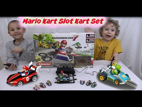 Carrera Go! Mario Kart racing Slot Car Racecar set