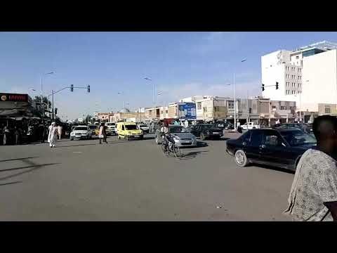 Nouakchott Mauritania traffic 2017