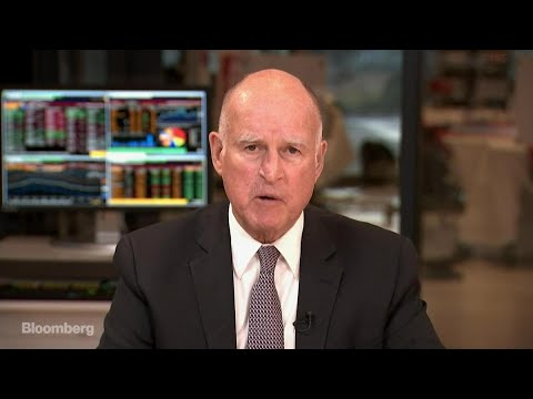 California Governor Brown on Climate Change, Tax Reform