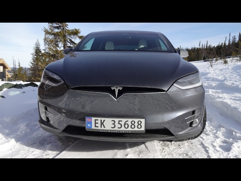 Tesla Model X.