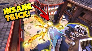INSANE Pharah OP Trick Kills 5!! - Overwatch Funny Moments & Best Plays 6