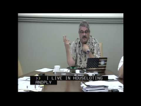 Mel Rapozo & Kauai Water Dept Wailua Water DHHL 10 24 17