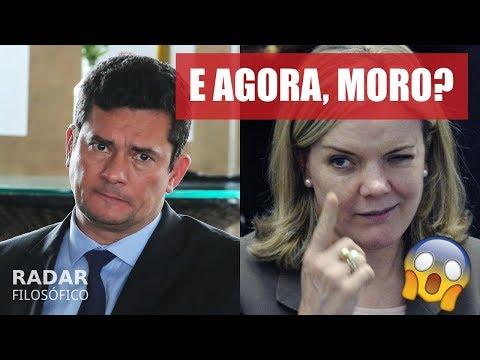 Gleisi Pede PRISÃO de Sérgio Moro e Dallagnol; Frota Responde