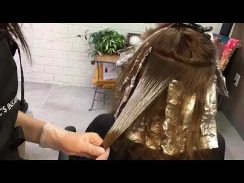 Balayage on Virgin Hair || Hair Tutorial